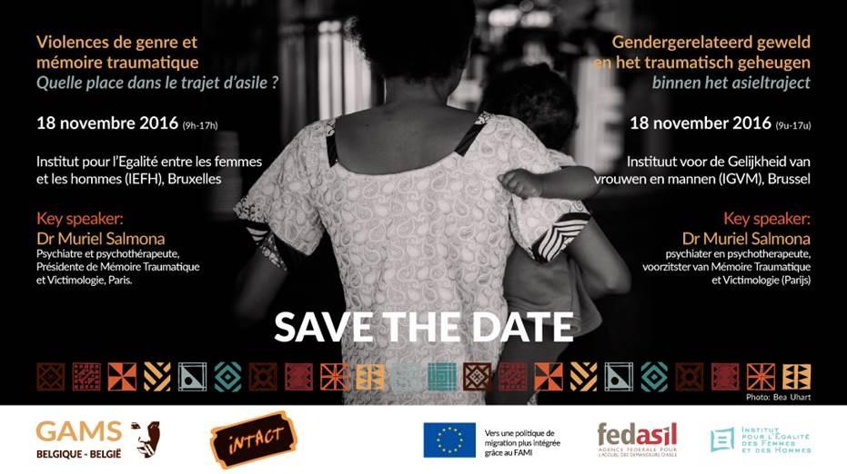 Save the date - Colloque / Colloquium 18/11/2016